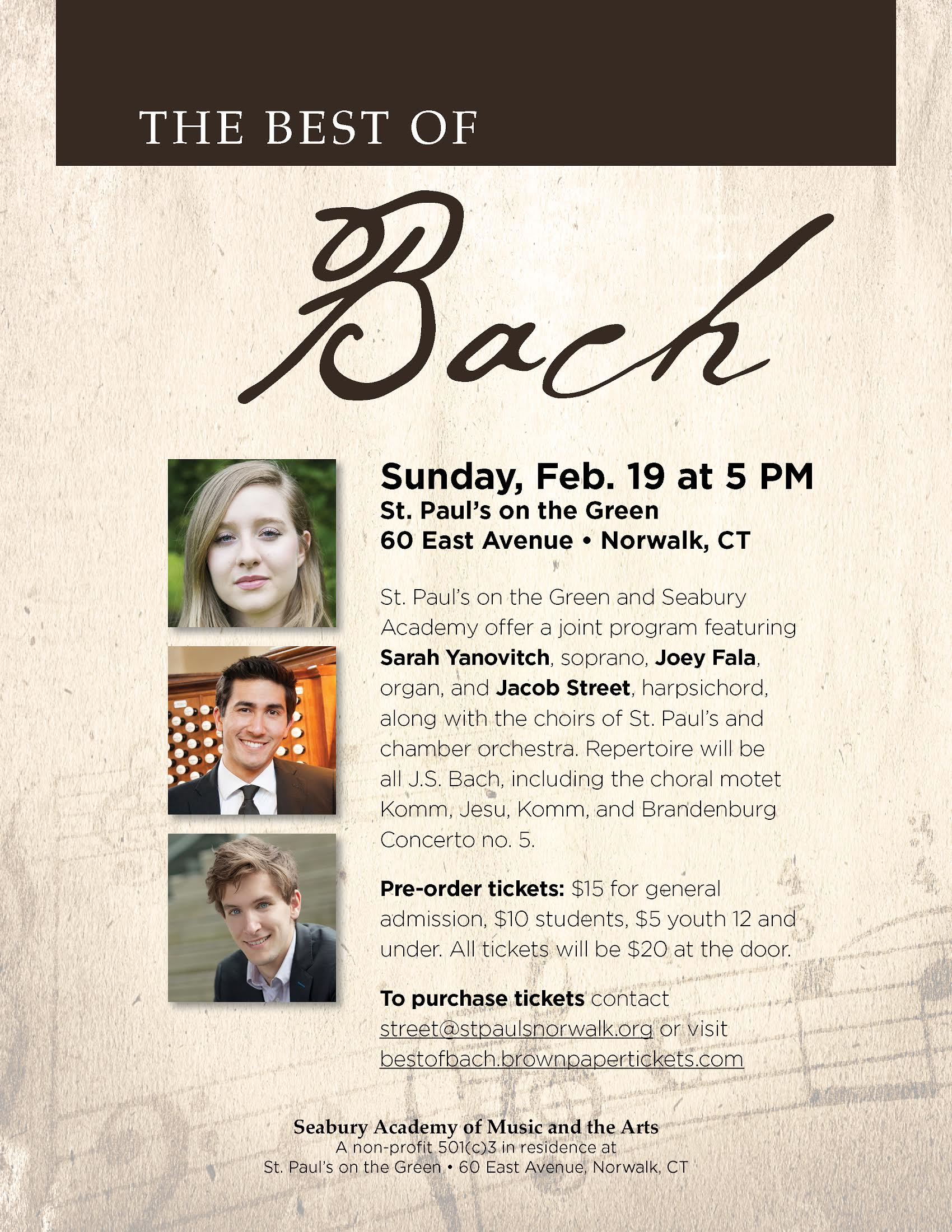 Best of Bach Concert